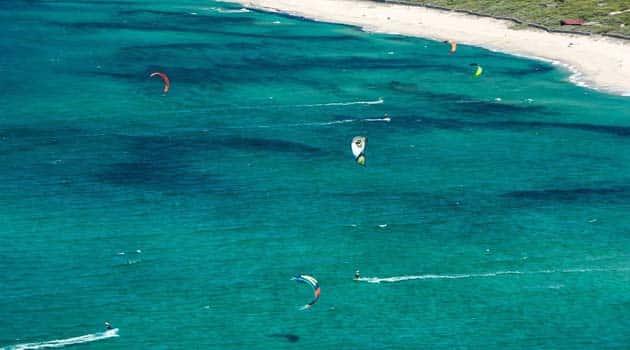 kitsurf badesi